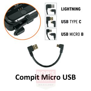 SKS Compit power unit laadsnoer Micro USB