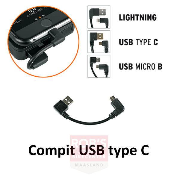 SKS Compit power unit laadsnoer USB type C