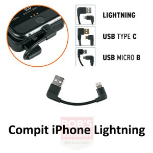 SKS Compit power unit laadsnoer iPhone