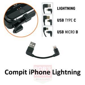 SKS Compit power unit laadsnoer iPhone